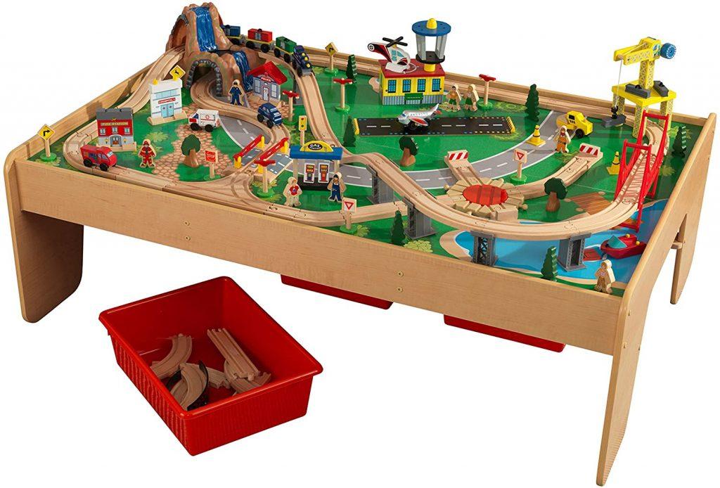 table de jeux en bois